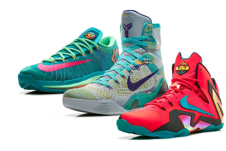 Nike Unveils 'Hero' Collection of LeBron 11, Kobe 9 and KD VI Kicks