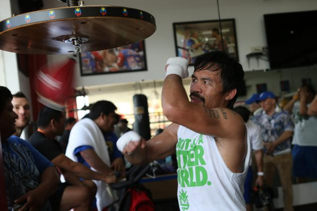 Manny Pacquiao Out to Prove He Still Has the Killer Instinct of a Great Fighter