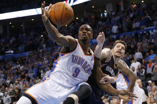 Thunder Should Boost Serge Ibaka's Role with Championship in Sight