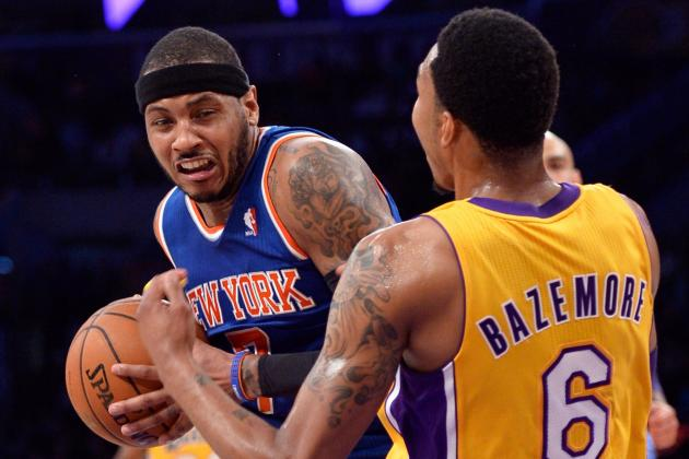 Why Los Angeles Lakers' Future Looks Rosier Than New York Knicks' Future