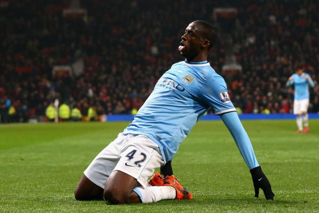 Yaya Toure's Unusual Scoring Knack Key to Manchester City's Premier League Hopes