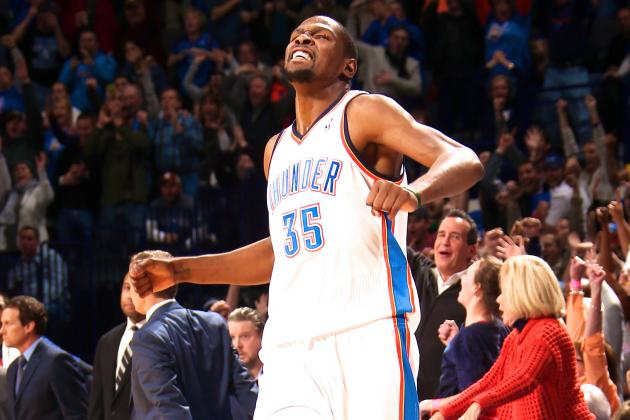 Kevin Durant's MVP Season Alone Won't Deliver Title for OKC Thunder