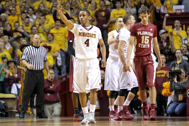 NIT Semifinals 2014: Minnesota vs. Florida State Breakdown and Predictions