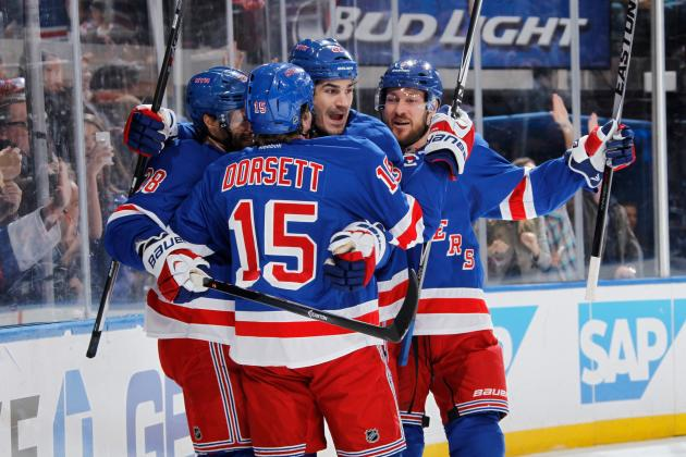 New York Rangers Prove They're Favorites in a Series vs. the Philadelphia Flyers