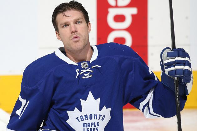 Maple Leafs' David Clarkson's Brutal Season Befuddles Scouts