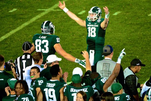 Why the Big Ten Football Title Runs Through East Lansing in 2014
