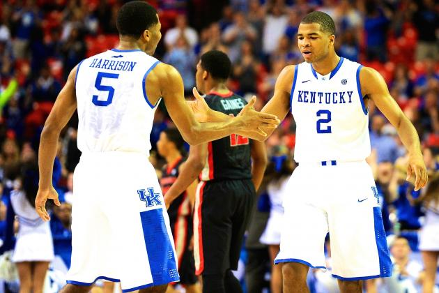Harrison Twins Hitting Their Stride Just in Time for Peaking Kentucky
