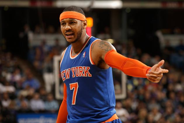 Carmelo Anthony Injury: Updates on Knicks Star's Ankle