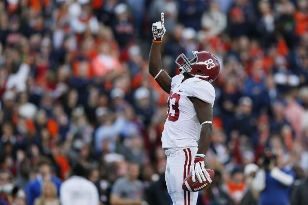 Alabama WR Kevin Norwood Epitomizes Strength, Character
