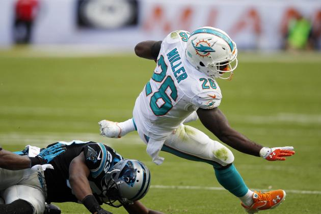 Miami Dolphins: Glaring Hole at Running Back as Lamar Miller Is Not the Answer