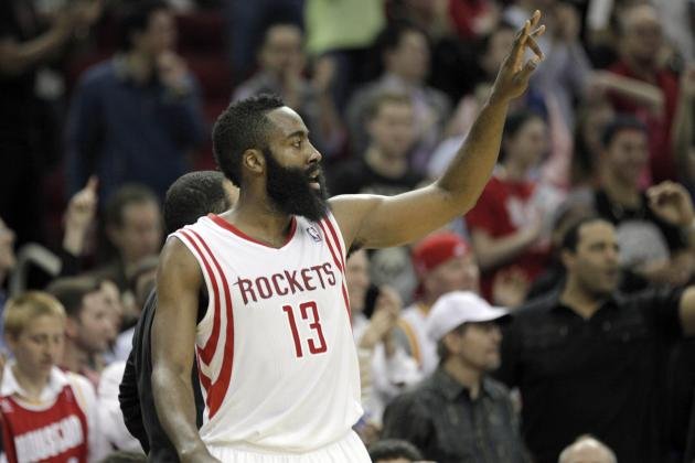Grading James Harden's Season Leading the Houston Rockets So Far