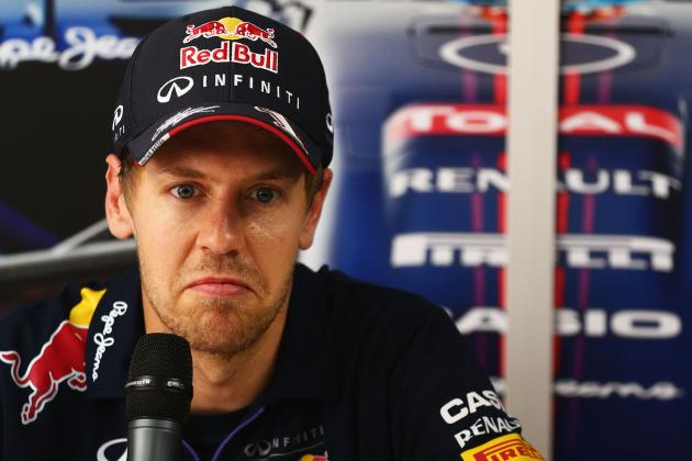 Sebastian Vettel: Formula 1 Engine Noise in 2014 Is 'S--t'