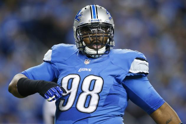 What's Next for Nick Fairley, Lions After Team Declined to Pick Up Option