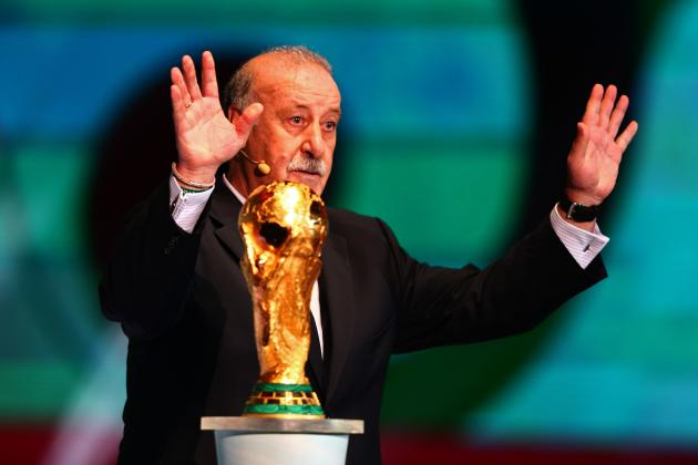 2014 World Cup Tactics Board: Analysing Vicente Del Bosque's Spain