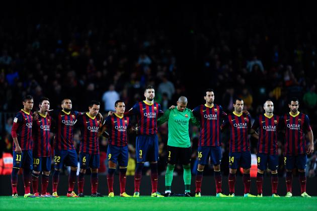 How Barcelona Will Line Up Against Espanyol in the Catalan Derby