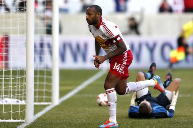 Thierry Henry's New York Red Bulls and Arsenal Agree to Pre-Season Friendly