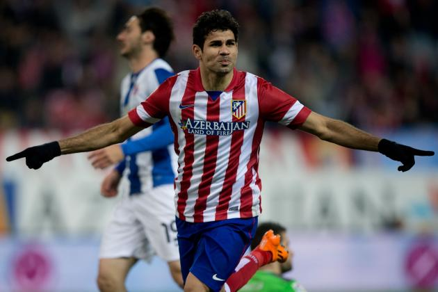 Chelsea Transfer News: Diego Costa Would Fix What Ails Blues' Offence