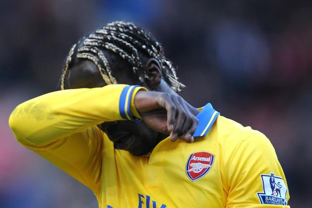 Bacary Sagna Transfer Link to Manchester City Underlines Arsenal Malaise