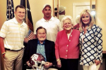 President Bush Expected to Attend Manziel's Pro Day