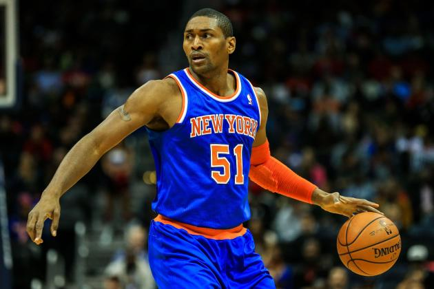 Metta World Peace Reportedly Wants 2nd Chance with Knicks Under Phil Jackson