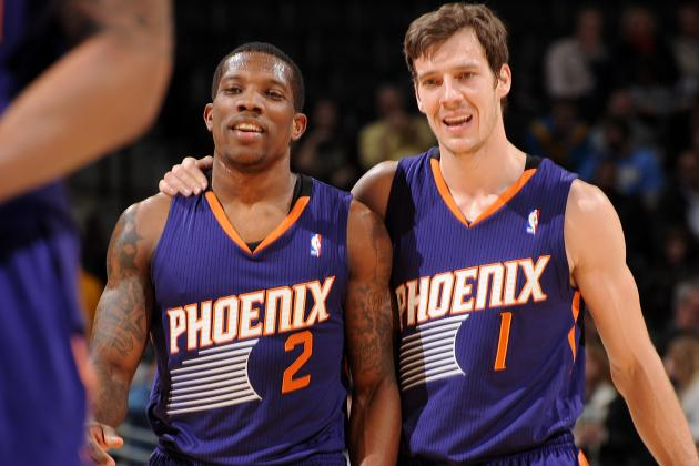 Dragic, Bledsoe Help Suns Hold off Wizards