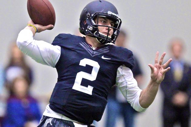 Johnny Manziel's Texas A&M Pro Day: Live Updates and Highlights