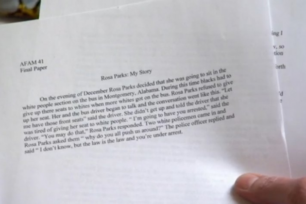 This Ridiculous One-Paragraph Essay by a UNC Athlete Got an a-Minus