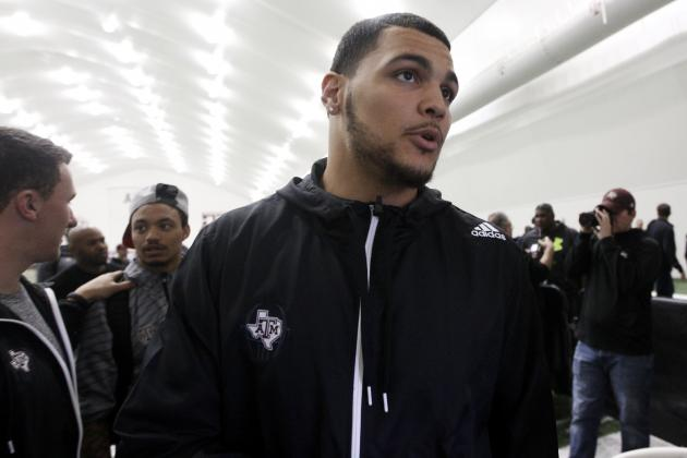 Mike Evans: Breaking Down Texas A&M WR's Pro Day Workout