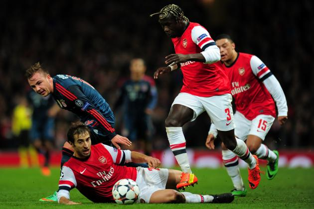 Man City Transfer Move for Arsenal Defender Bacary Sagna Makes Perfect Sense
