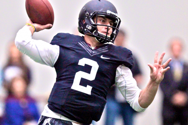 Johnny Manziel: Breaking Down Texas A&M QB's Pro Day Workout