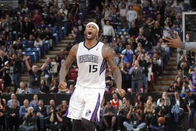Carmelo Anthony Strongly Endorses DeMarcus Cousins, Calls Him His 'Project'
