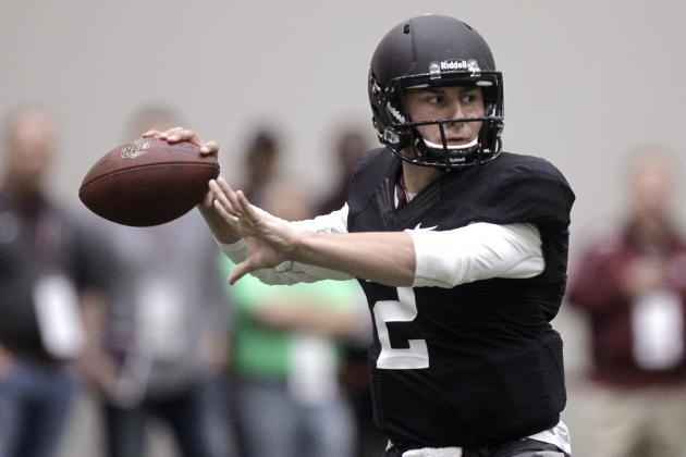 Johnny Manziel's Pro Day Secures 1st-Round Status
