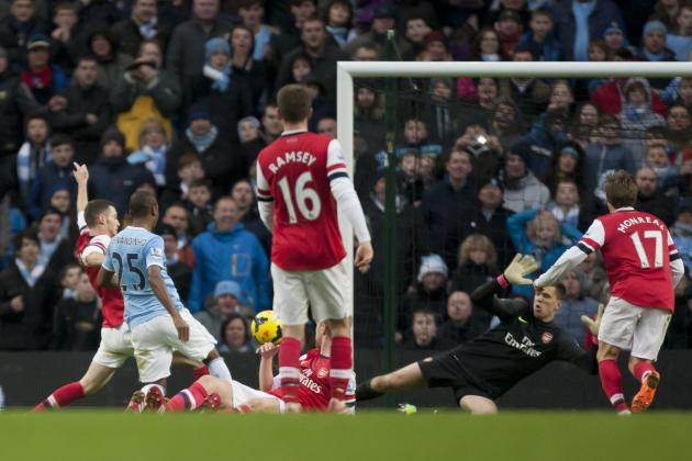 How Manchester City Will Line Up Against Arsenal in Clash of Title Contenders