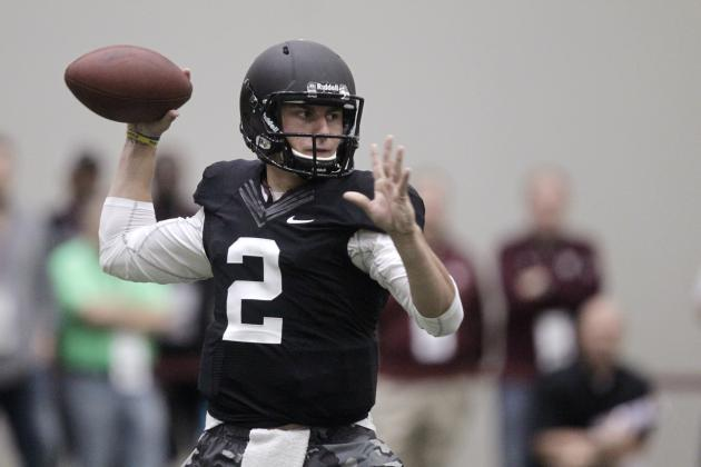 Johnny Manziel's Pro Day Solidifies Him as 2014 NFL Draft's Top Quarterback