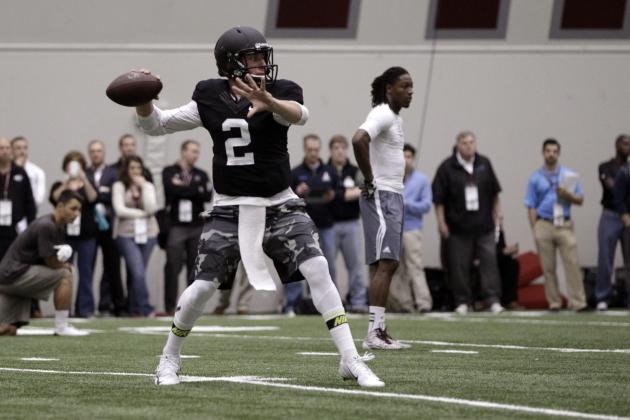 Johnny Manziel Is Not Worthy of Top Pick Despite Strong Pro Day