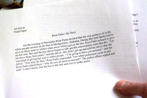 North Carolina Football Player Reportedly Received an A- for This  Short 'Paper'