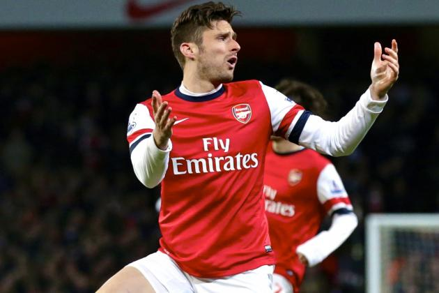 Arsenal Will Never Win the Premier League with Olivier Giroud in Attack