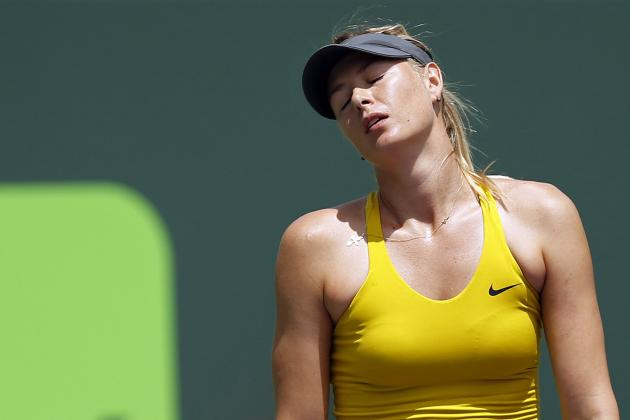 Maria Sharapova Facing Major Obstacles Going into Clay-Court Season