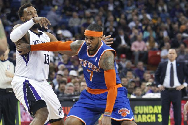 Carmelo Anthony Should Focus More on Dysfunctional Knicks Than DeMarcus Cousins