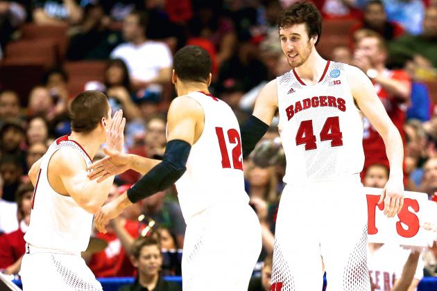Wisconsin vs. Baylor: Live Score, Highlights for Sweet 16 2014