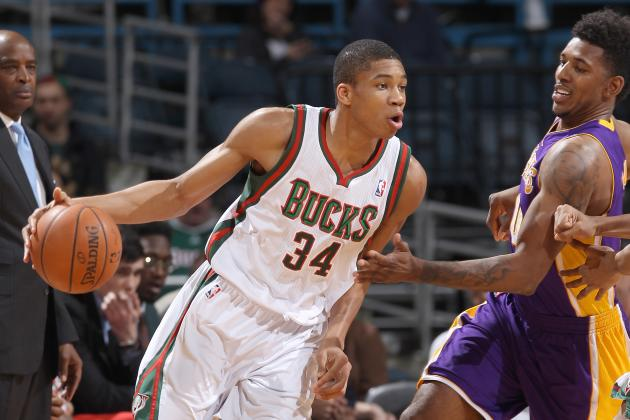Giannis Exits vs. Lakers with Ankle Sprain