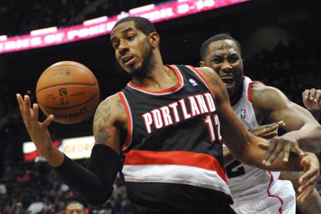 Aldridge Leads Blazers Past Hawks in Return