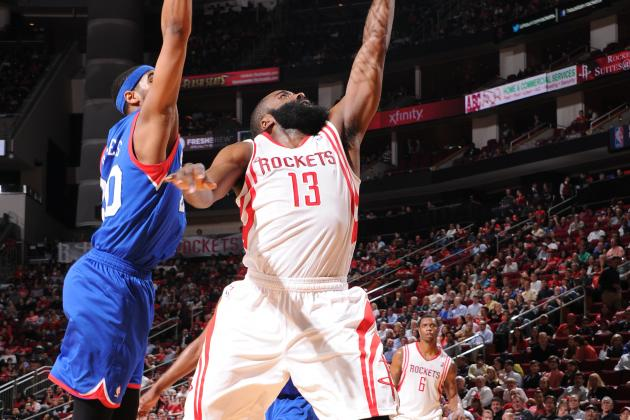 Harden Posts 2nd Career Triple-Double in Win