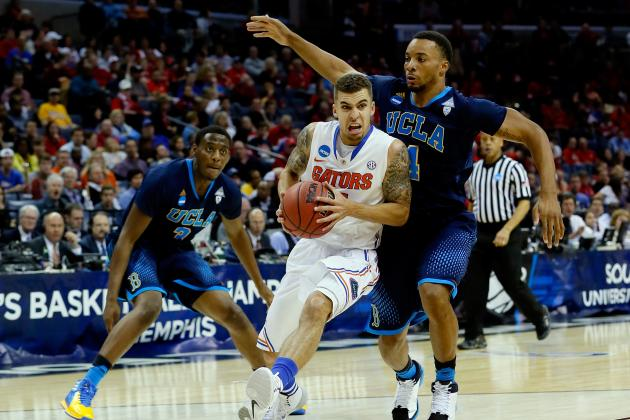 Florida vs. UCLA: Live Score, Highlights for Sweet 16 2014
