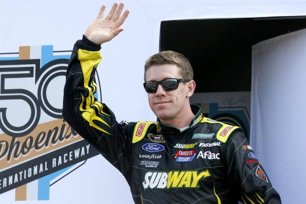 Now That He's Back on Top in NASCAR, Can Carl Edwards Stay No. 1 in Sprint Cup?