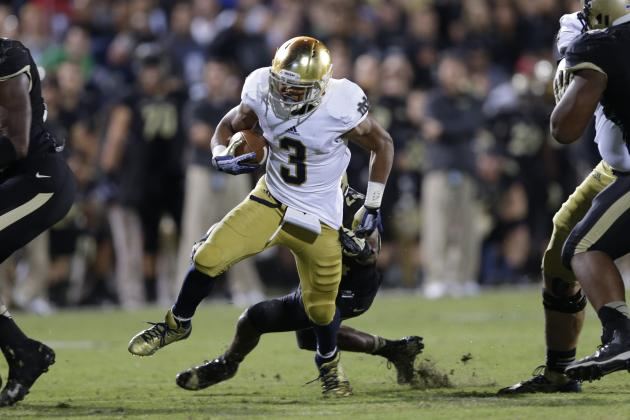 Notre Dame Football: Is Amir Carlisle Poised to Break out in 2014?