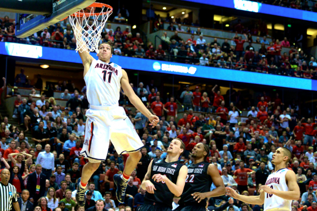 Arizona vs. San Diego State: Score and Twitter Reaction from March Madness 2014
