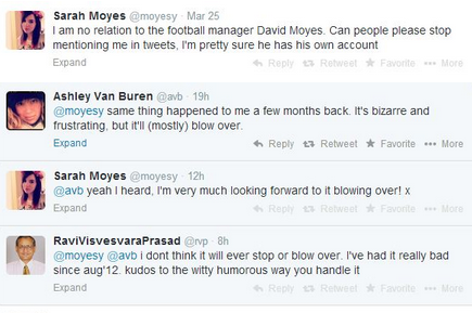 @RVP, @AVB and @Moyesy Have One of the Great Twitter Conversations