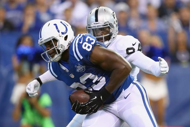 How Dwayne Allen's Return Will Impact Coby Fleener and the Colts Offense