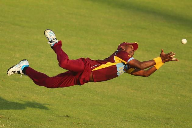 Dwayne Bravo Misses Tricky Catch at World T20, Then Recovers in Style
